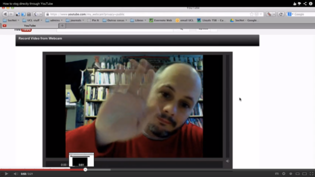 Screen Shot of Juliano waving goodbye to viewers. 2013-02-20 at 3.13.03 PM
