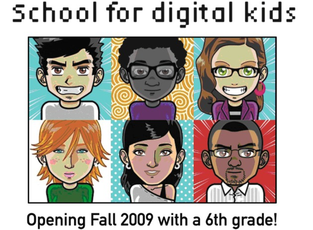 Recruitment flier for the Downtown School