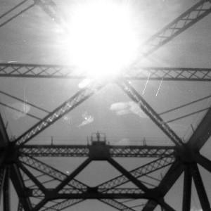 Oakland Bridge, July, 2013, Picture taken by Clare Anzoleaga