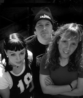 Picture of members of the band Bitesize